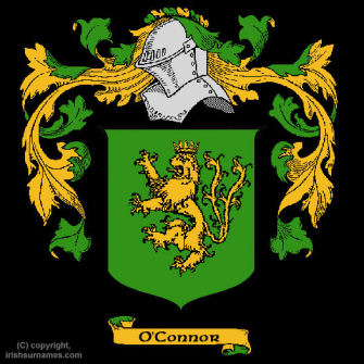 O'Connor (Kerry) Clan Coat of Arms