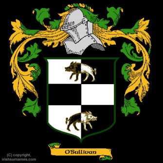 O'Sullivan (Beare) Clan Coat of Arms