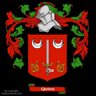 Quinn (Clare) Clan Coat of Arms