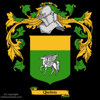 Quinn (Longford) Clan Coat of Arms