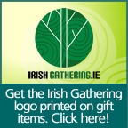 Get the Irish Gathering Logo Printed on Gift Items